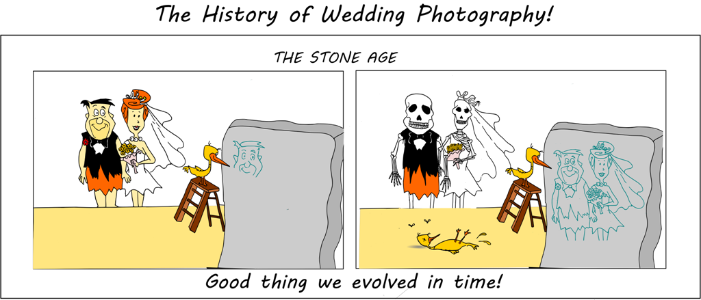 A history of wedding photography